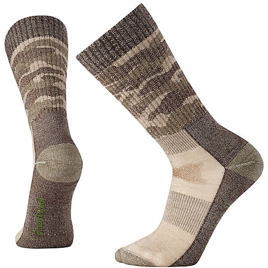 Men's Hunting Medium Camo Crew Socks