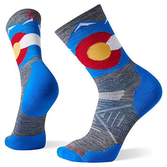PhD® Outdoor Light Elite Colorado Crew Socks