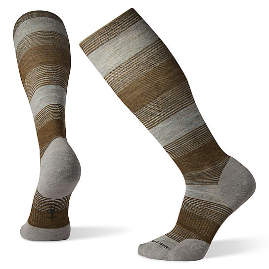 Men's Compression Varied Stripe OTC Socks