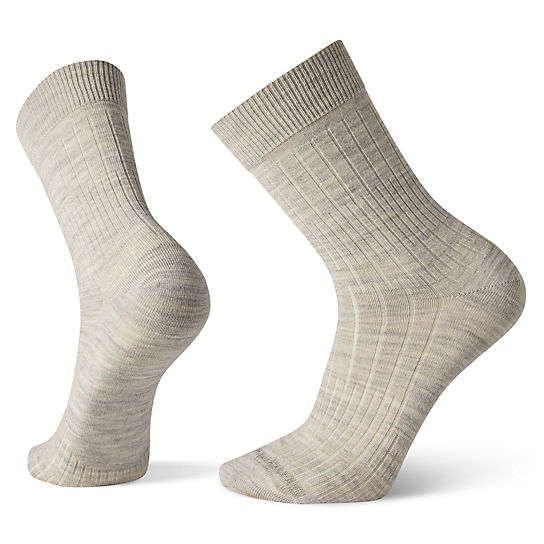 Men's New Basic Rib Crew Socks