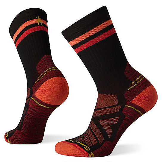 Women's Hike Light Cushion Tube Stripe Crew Socks