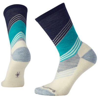SmartWool Women's Cheboygan Crew Socks - Deep Navy Heather SW:003697:108:M::1: