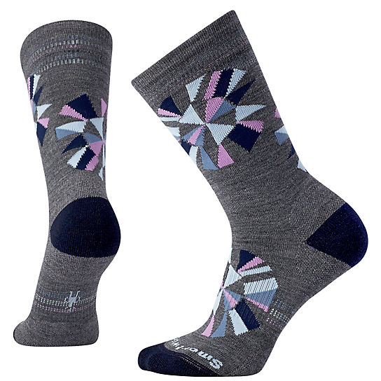 Women's Premium Digital Universe Crew Socks