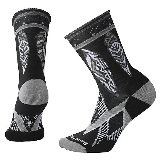 Women's Feather Dream Non-Binding Crew Socks