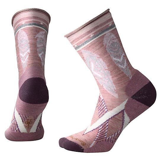 b81bfc0dc Women s Feather Dream Non-Binding Crew Wool Socks