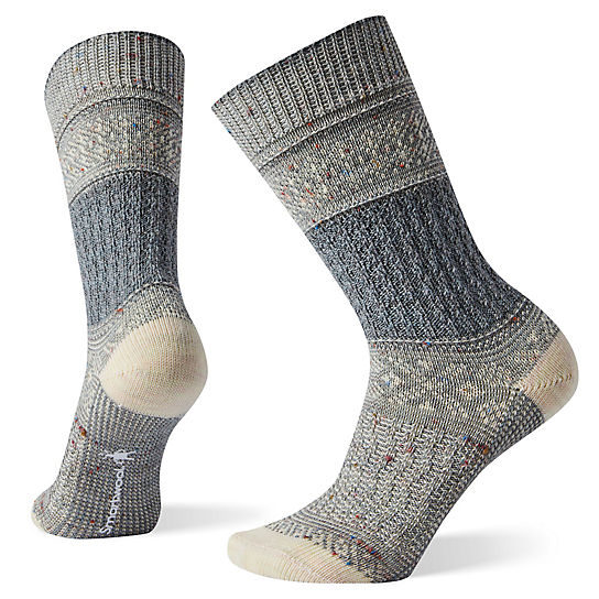 Women's Garter Stitch Texture Crew Socks