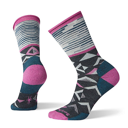 Women's Non-Binding Pressure Free Triangle Crew Socks