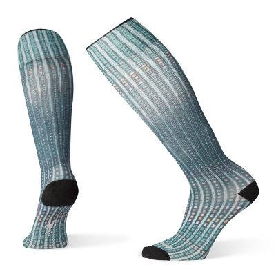 Women S Compression Virtual Voyager Print Otc Socks Smartwool 174