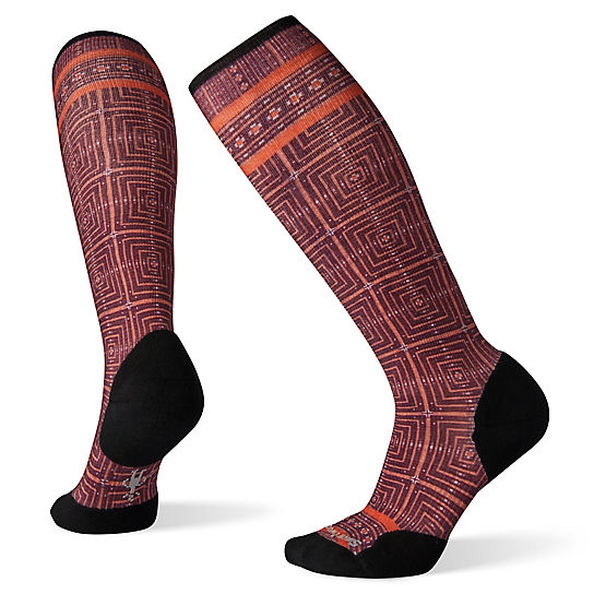 Women's Compression Cruise Director Print OTC Socks