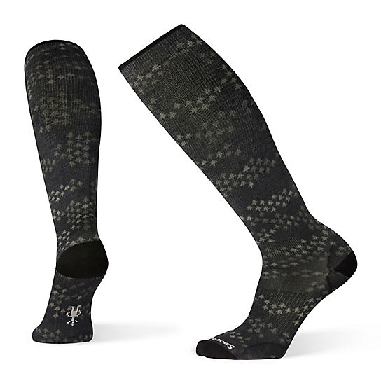 Men's Compression Making Tracks Print OTC Socks
