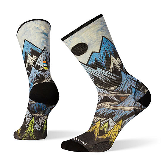 Men's Curated Mountain Ventures Crew Socks