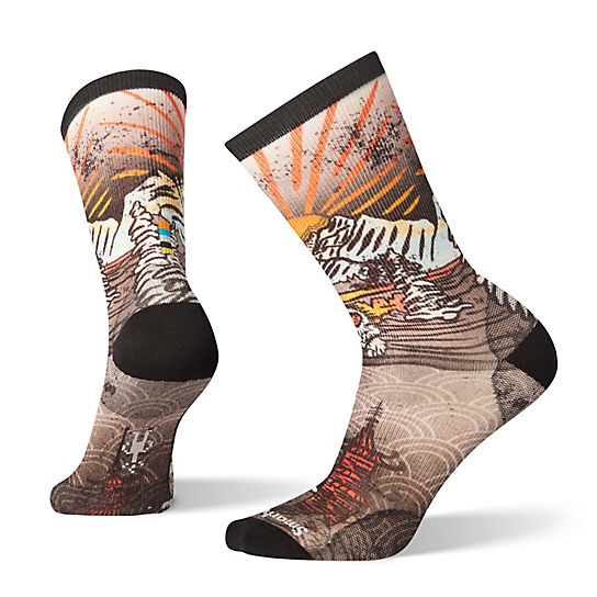 Men's Curated Monkey Lounge Crew Socks