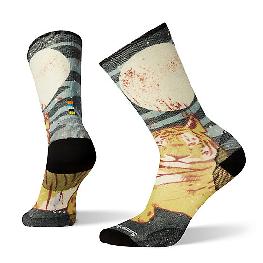 Men's Curated Tiger Within Crew Socks
