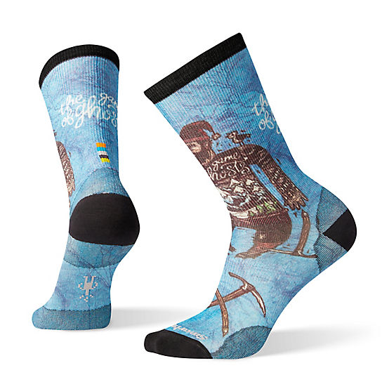 Men's Curated Game of Ghosts Crew Socks
