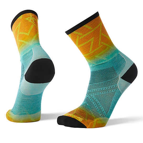 Men's PhD® Run Ultra Light Print Crew Socks