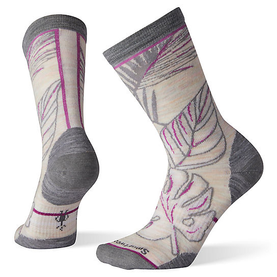 Women's Paradise Leaf Crew Socks