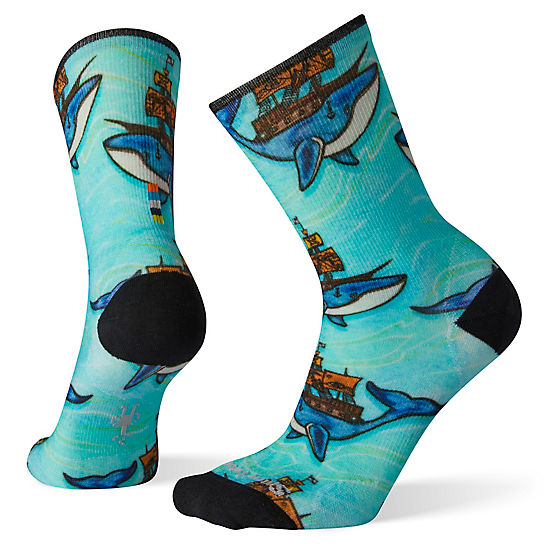 Women's Curated Mitas Whale Crew Socks