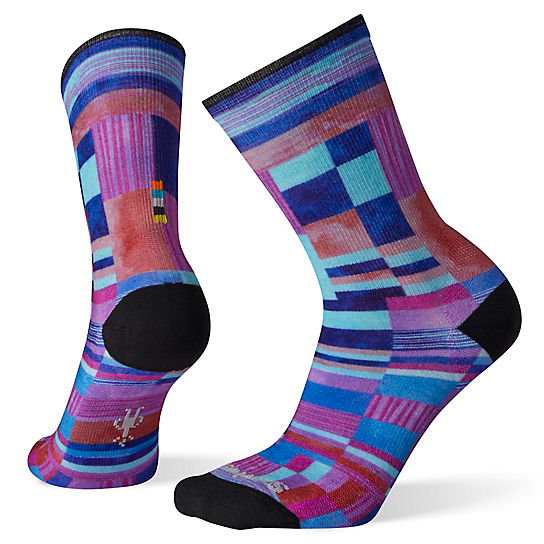 Women's Curated Patchwork Print Crew Socks