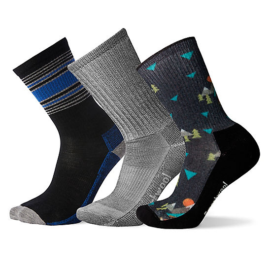 Men's Mountain Hike Socks Trio Gift Box
