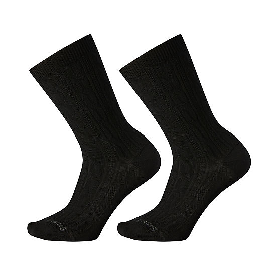 Women's Cable Crew 2 Pack Socks