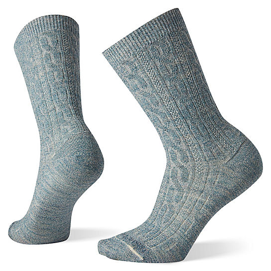 Women's Cable Crew Socks