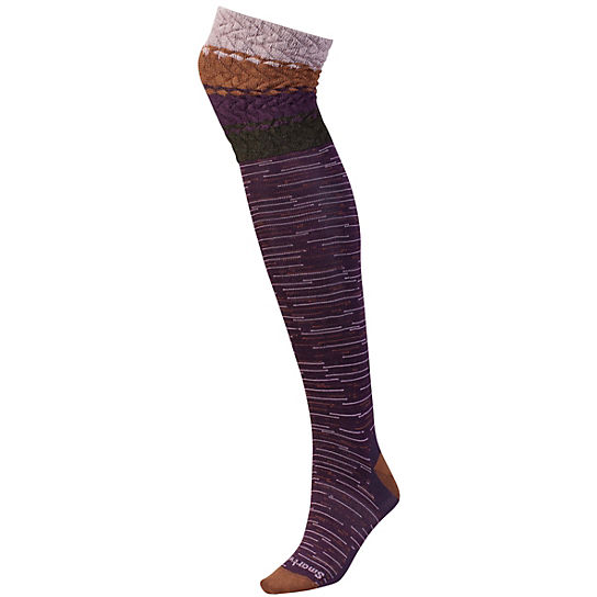 Women's Built Up Beehive Over-the-Knee Socks