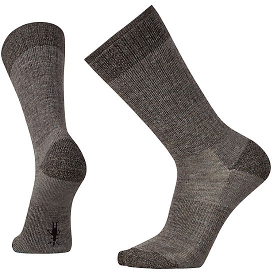 Men's Heathered Hiker Crew Socks