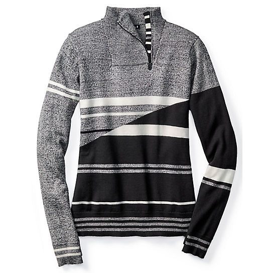 Women's Isto Sport Stripe Sweater