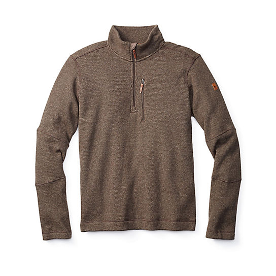 Men's Heritage Trail Fleece Half Zip Sweater