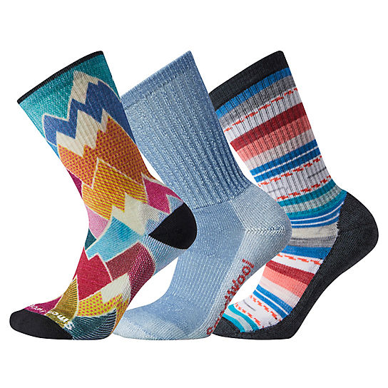 Women's Hike Light Cushioned Socks Trio Gift Box