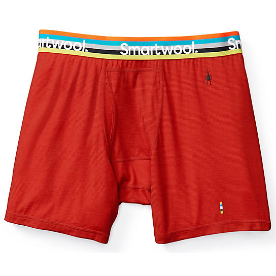 Men's Merino 150 Micro Stripe Boxer Brief