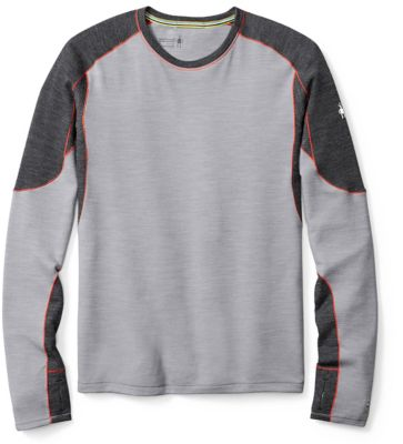 SmartWool Men's PhD® Light Long Sleeve - Light Gray SW:014013:039:S::1:
