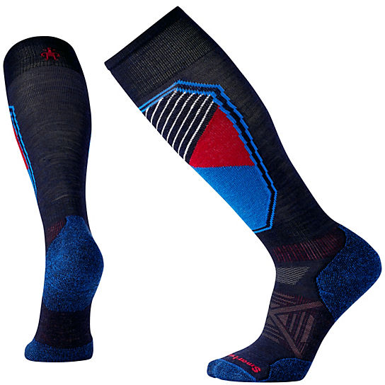 Men's PhD® Ski Light Pattern Socks