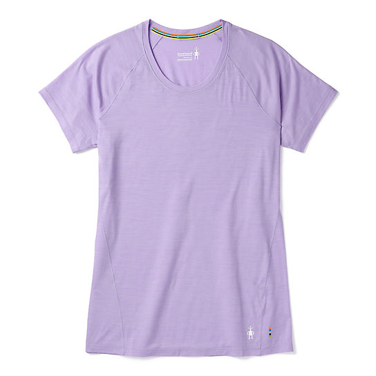 Women's Merino 150 Base Layer Micro Stripe Short Sleeve