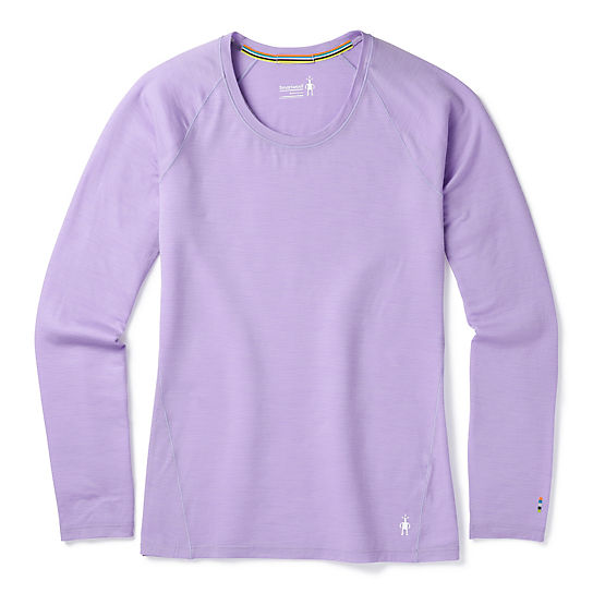 Women's Merino 150 Base Layer Micro Stripe Long Sleeve