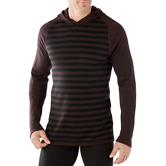 Men's Merino 250 Base Layer Pattern Hoody