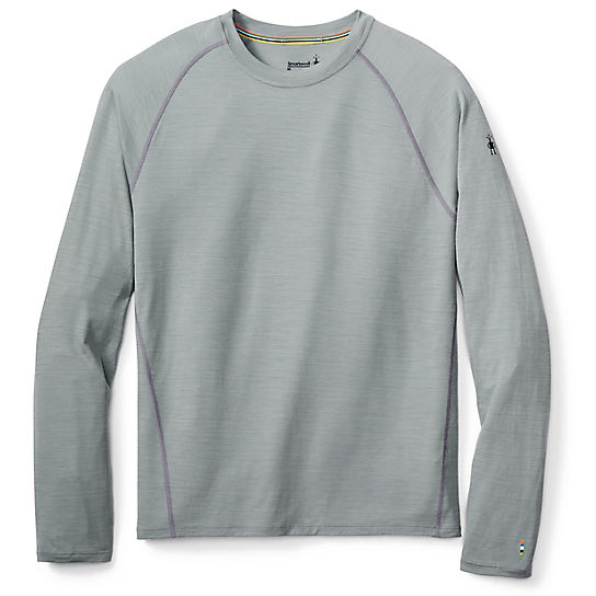 Men's Merino 150 Base Layer Micro Stripe Long Sleeve