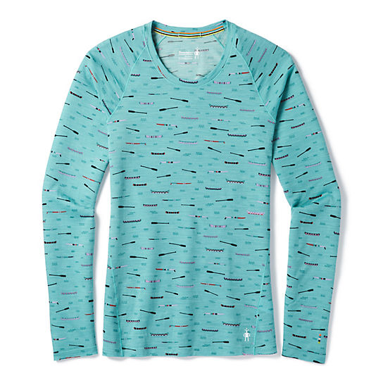 Women's Merino 150 Base Layer Print Long Sleeve