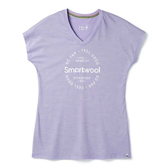 Women's Merino Sport 150 Go Far Feel Good Tee