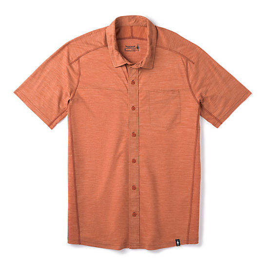 Men's Merino Sport 150 Short Sleeve Button Down