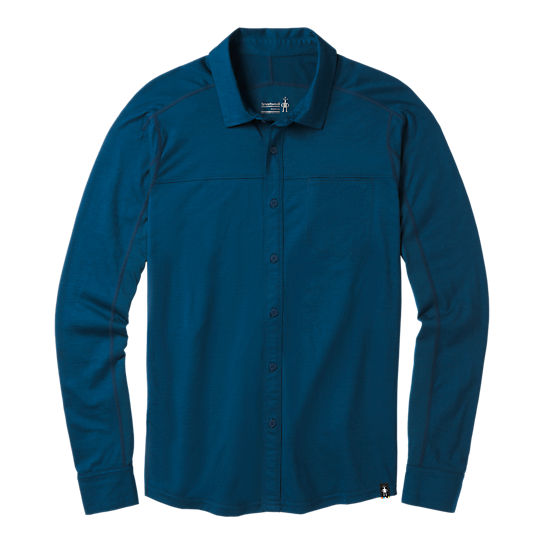Men's Merino Sport 150 Long Sleeve Button Down