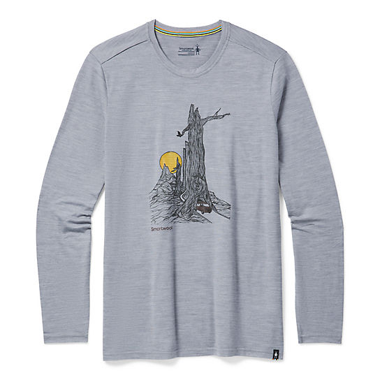 Men's Merino Sport 150 Long Sleeve Tunnel Views Graphic Tee