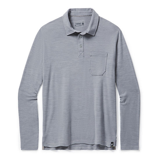 Men's Merino Sport 250 Long Sleeve Polo