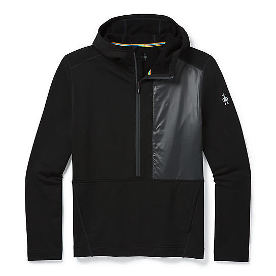 Men's Merino Sport Fleece Hybrid Pullover