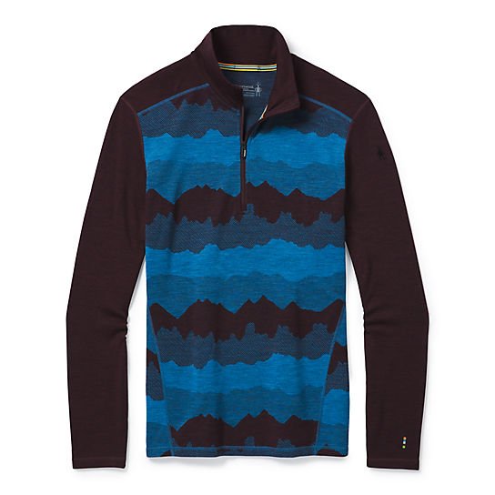 Men's Merino 250 Base Layer Pattern 1/4 Zip
