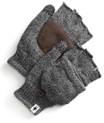 A fingerless glove poses as a mitten in our Cozy Grip Flip Mitt. Flip on the finger-hood for warmth, flip it off when you need your digits to get something done. A suede palm delivers grip and durability.