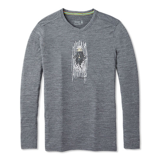 Men's Merino Sport 150 Old Man Winter Long Sleeve Tee
