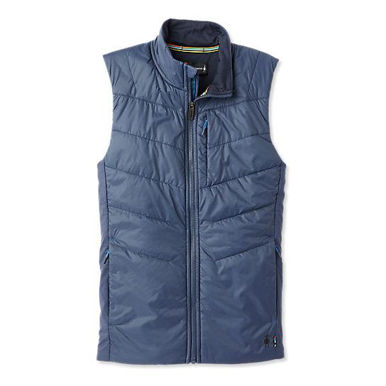 Merino Wool Sleeveless Performance Outerwear Light Alpine Blue Small Smartwool Men/'s Smartloft-X 60 Vest