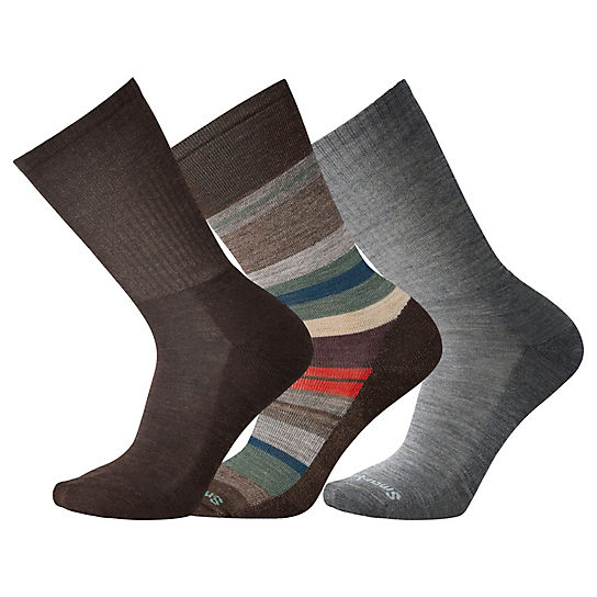 Men's Chestnut Socks Trio Gift Box