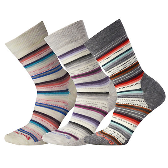 Women's Margarita Crew Socks - 3Pk